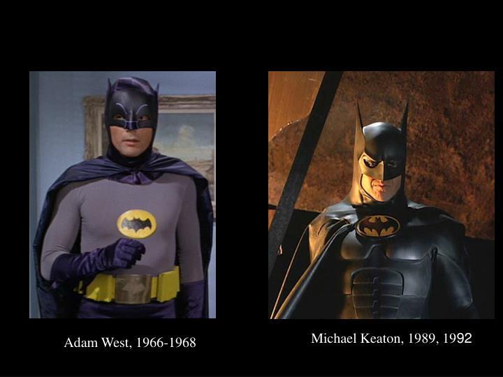Michael Keaton, 1989, 19