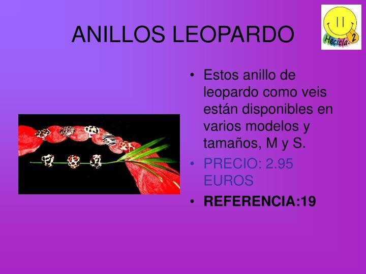 ANILLOS LEOPARDO