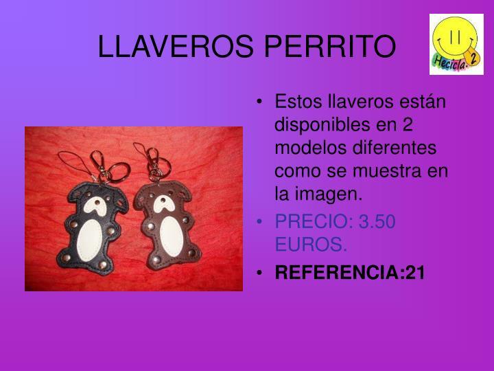 LLAVEROS PERRITO