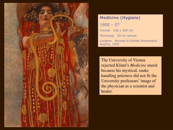 Medicine (Hygieia)