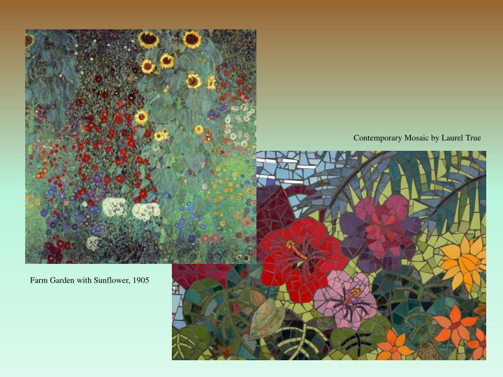 Contemporary Mosaic by Laurel True