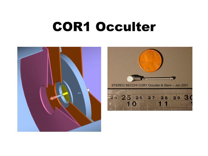 COR1 Occulter
