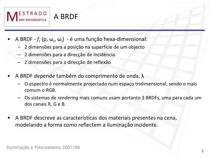 A BRDF