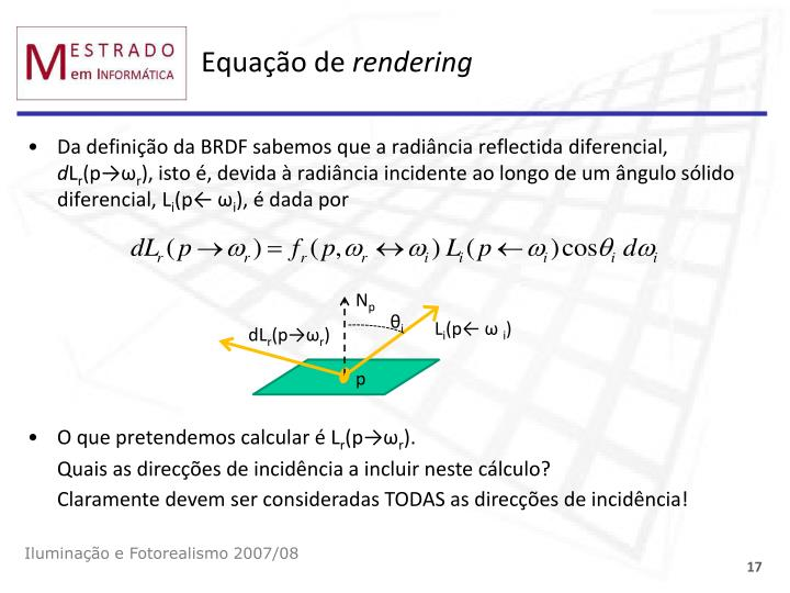 Equação de