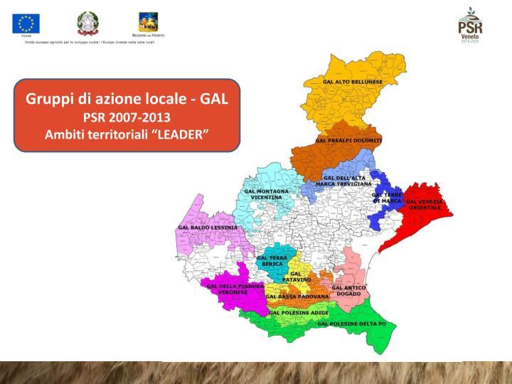 Gruppi di azione locale - GAL