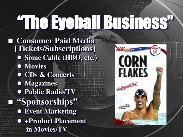 """The Eyeball Business"""
