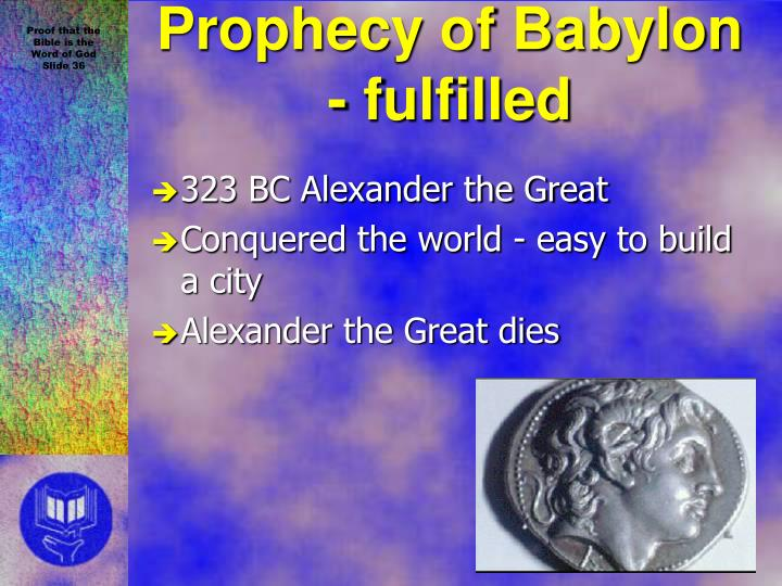 323 BC Alexander the Great