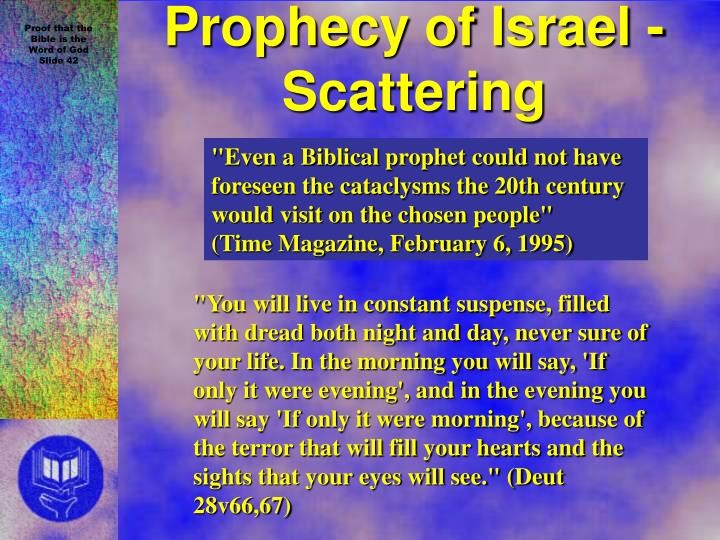 Prophecy of Israel - Scattering