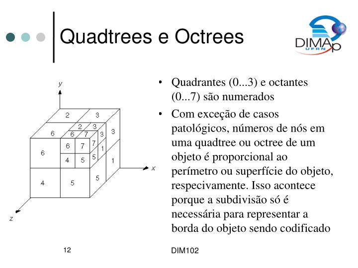 Quadtrees e Octrees
