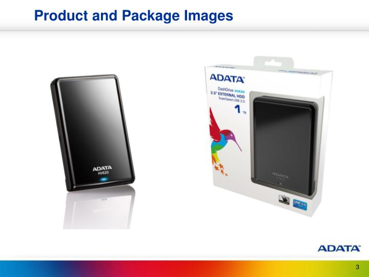 Product and Package Images