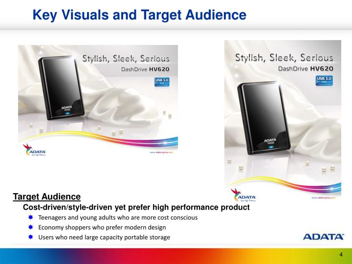 Key Visuals and Target Audience