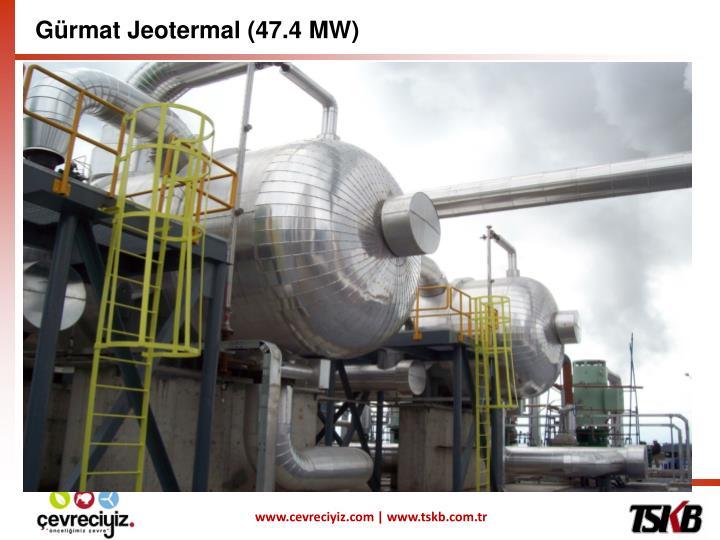 Gürmat Jeotermal (47.4 MW)