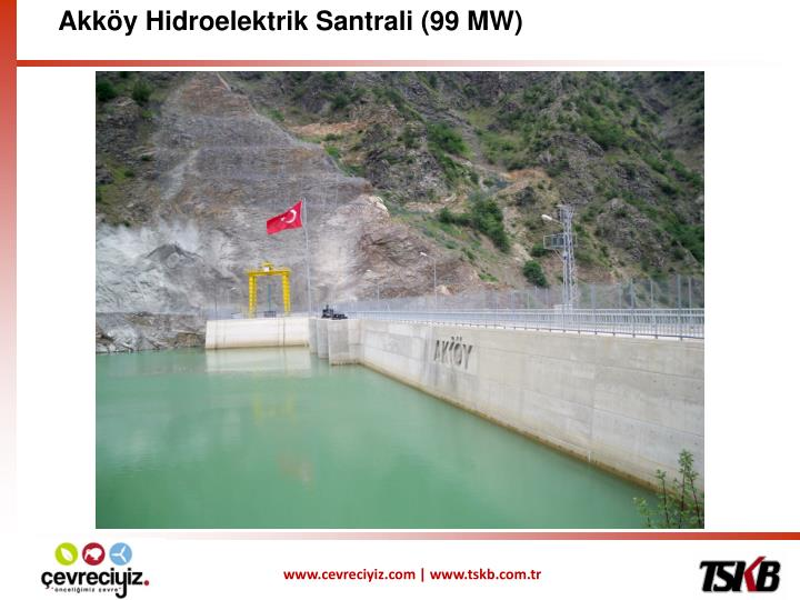 Akköy Hidroelektrik Santrali (99 MW)