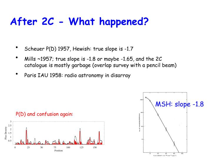 After 2C - What happened?