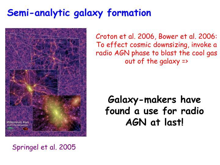 Semi-analytic galaxy formation