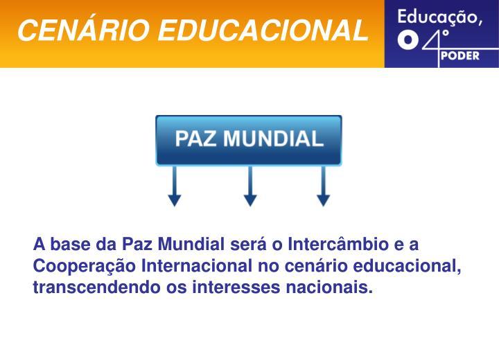 CENÁRIO EDUCACIONAL