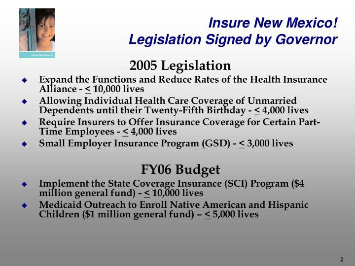 Insure New Mexico!