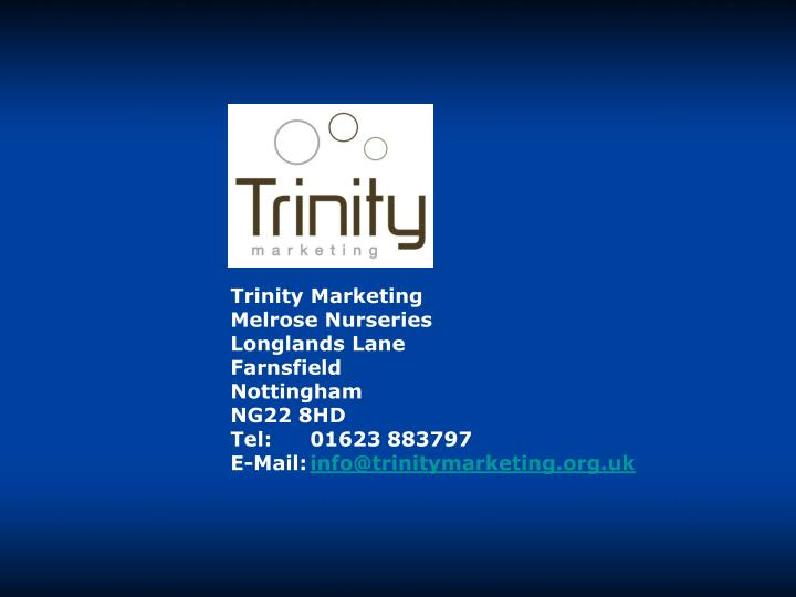 Trinity Marketing