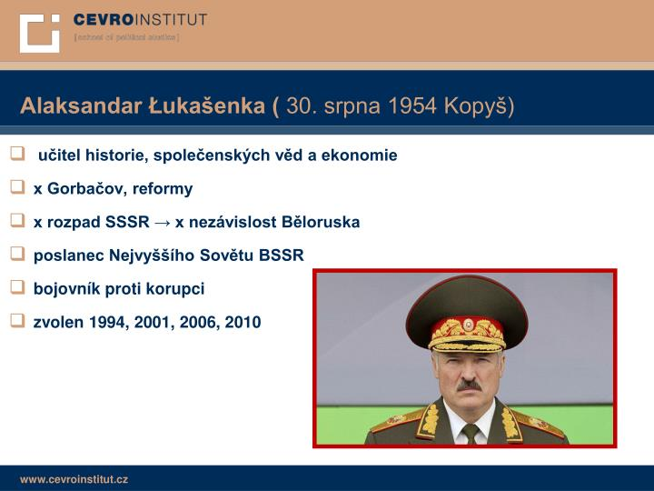 Alaksandar Łukašenka (