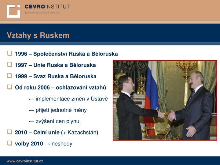 Vztahy s Ruskem