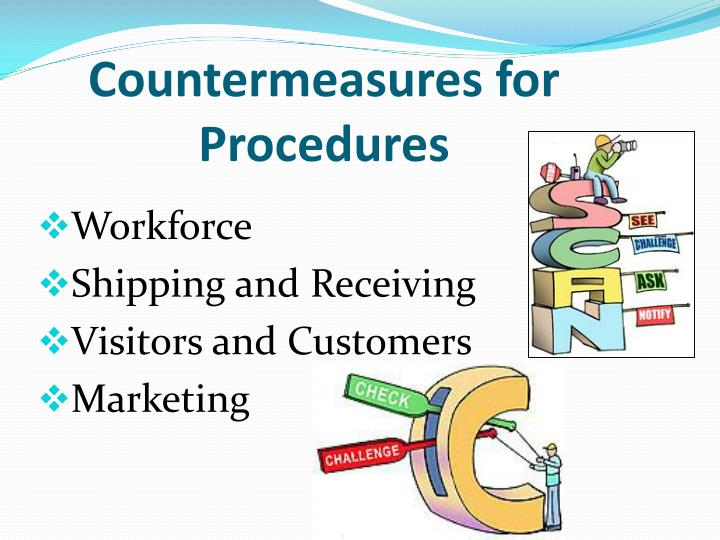 Countermeasures for Procedures
