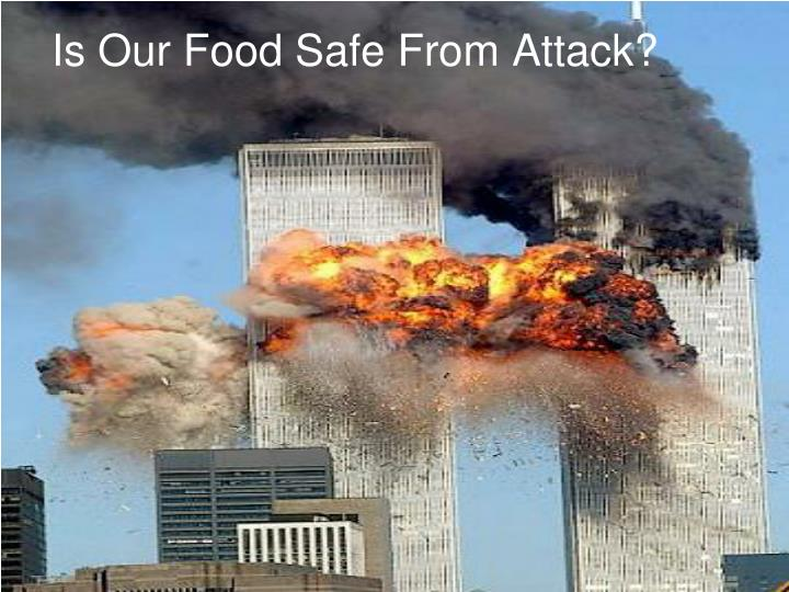 Is our food safe from attack
