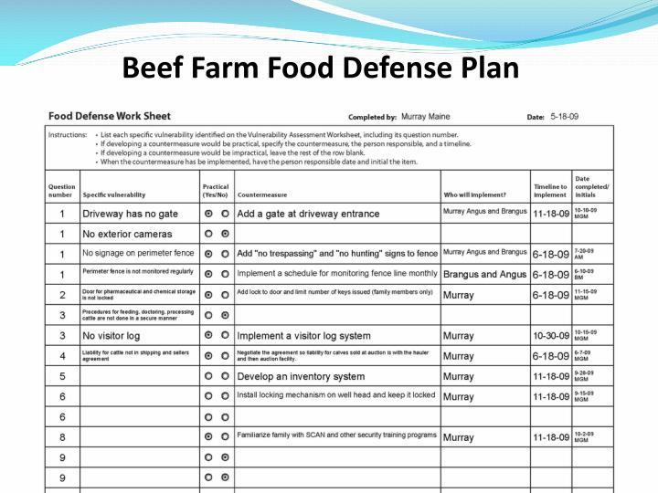 Beef Farm Food