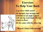 exercises to help your back3