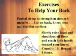 exercises to help your back4