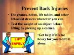 prevent back injuries1