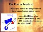 the forces involved2