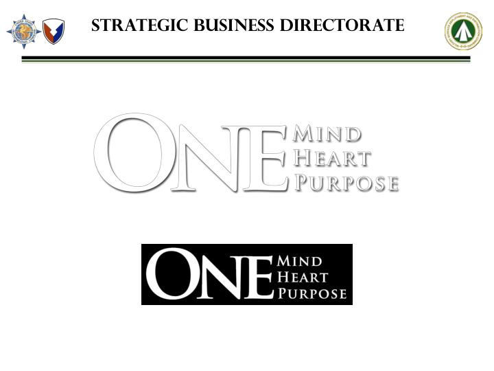 Strategic Business Directorate