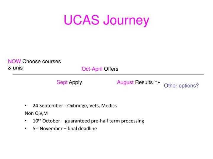 UCAS Journey