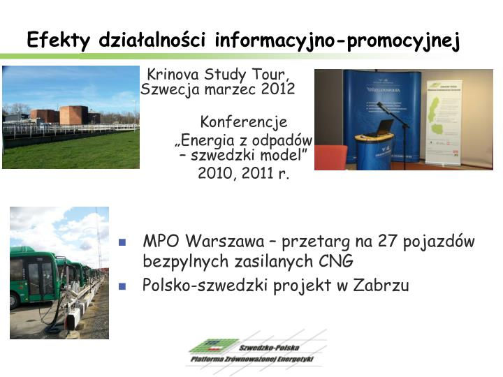 Efekty działalności informacyjno-promocyjnej