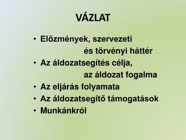 VÁZLAT