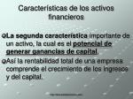 caracter sticas de los activos financieros1
