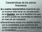 caracter sticas de los activos financieros3