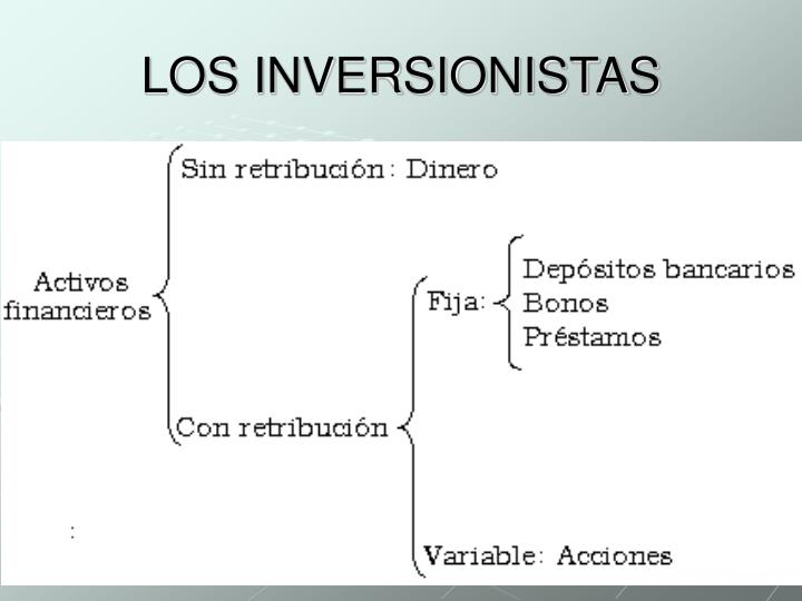 LOS INVERSIONISTAS