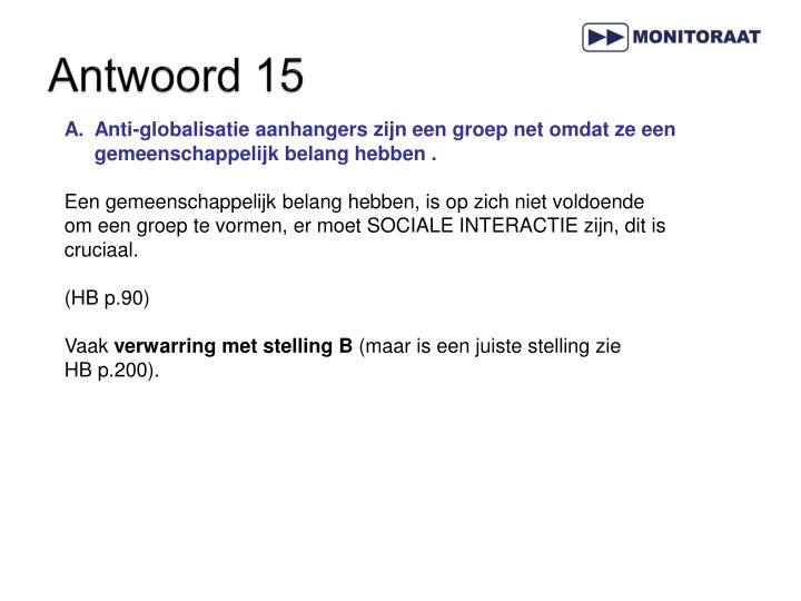 Antwoord 15