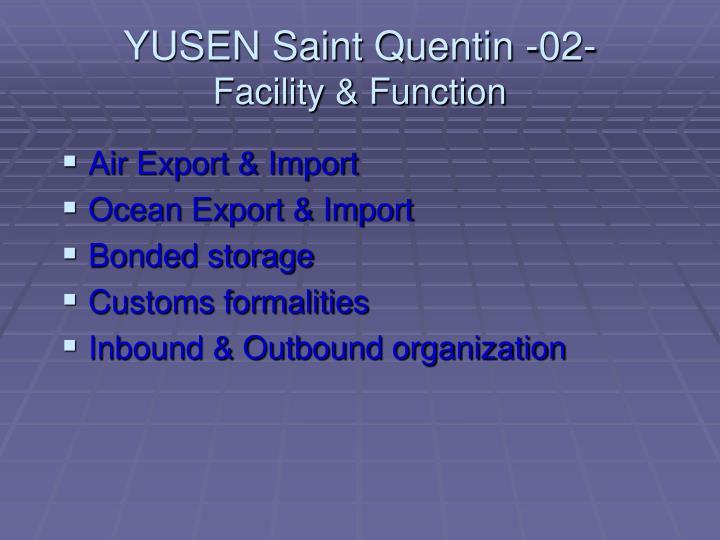 YUSEN Saint Quentin -02-