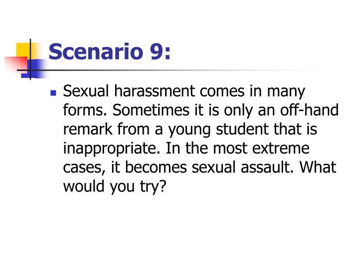 Scenario 9: