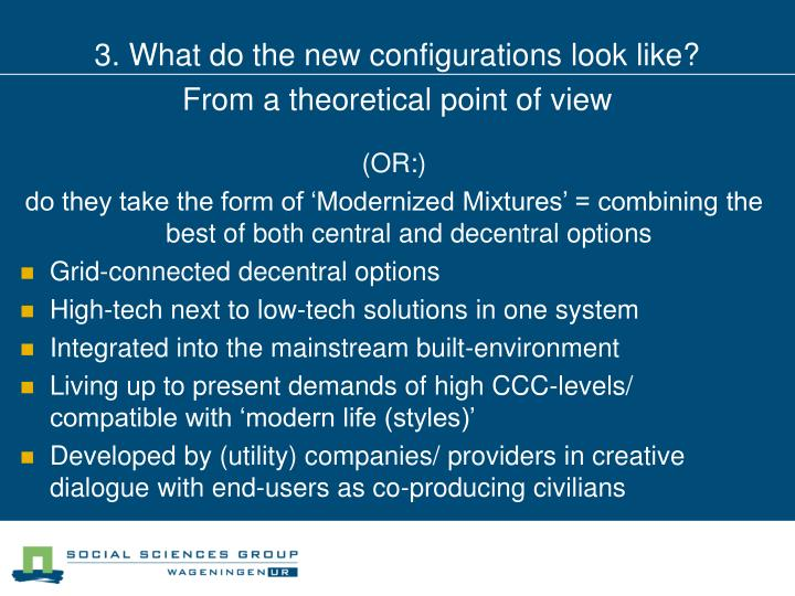 3. What do the new configurations look like?