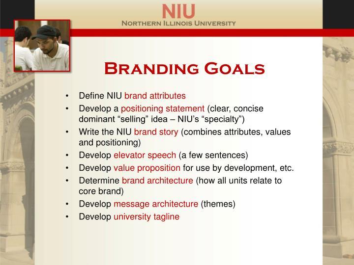 Branding Goals