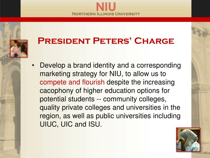 President Peters' Charge