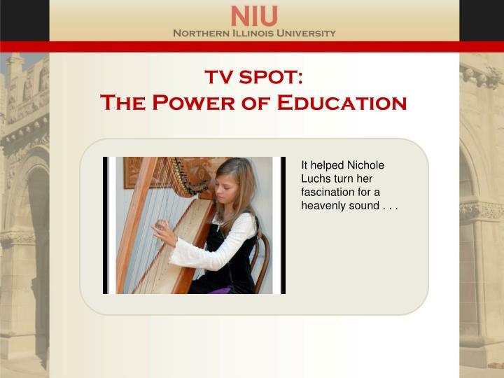 TV SPOT: