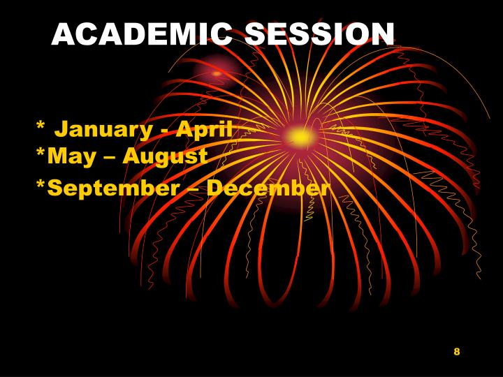ACADEMIC SESSION