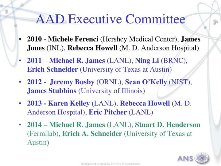 AAD Executive Committee