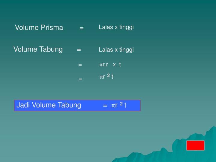 Volume Prisma =