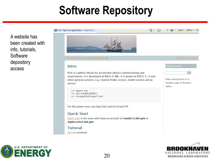 Software Repository