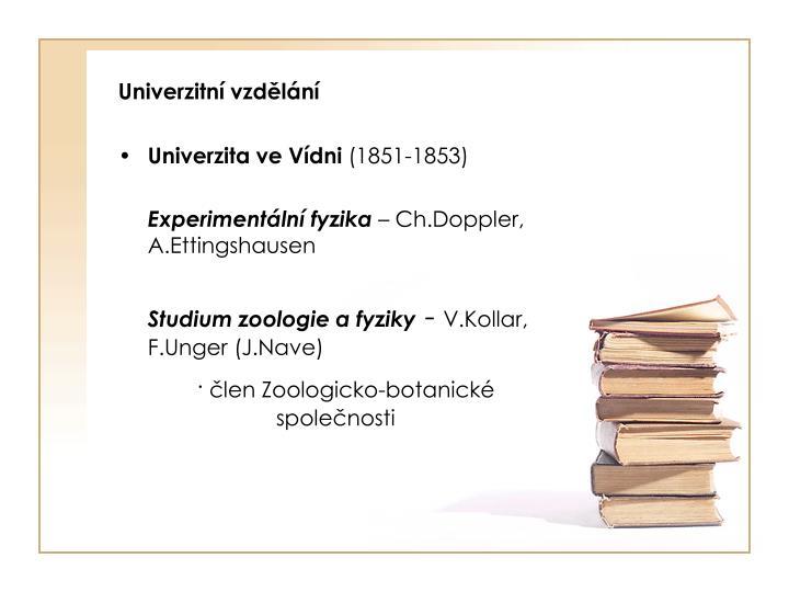 Univerzitní vzdělání